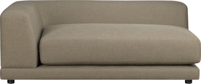 uno caper left arm sofa