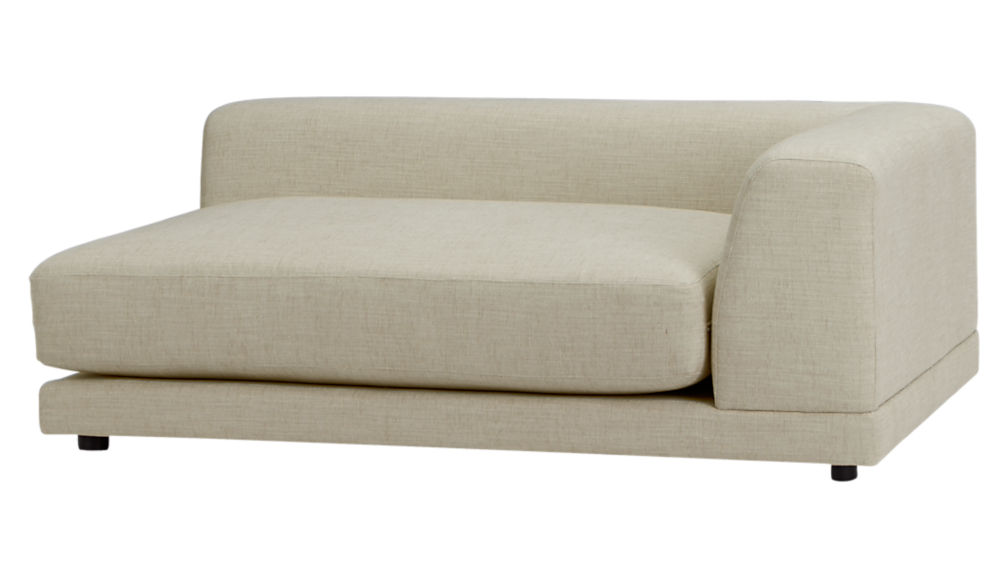 ... uno 2-piece sectional sofa  sc 1 st  CB2 : cb2 chaise - Sectionals, Sofas & Couches