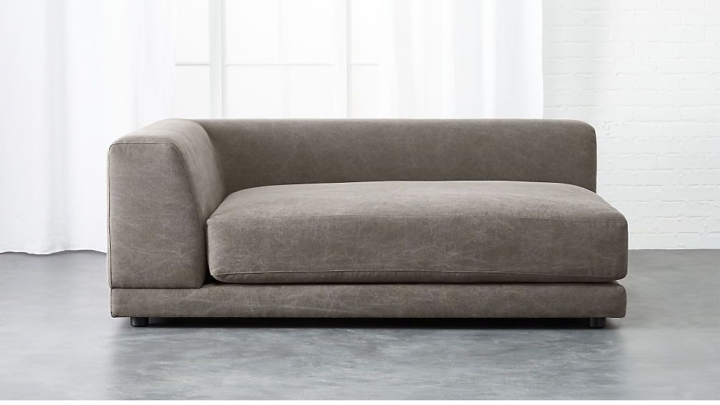 uno left arm deep chaise lounge
