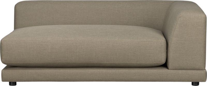 uno caper right arm sofa