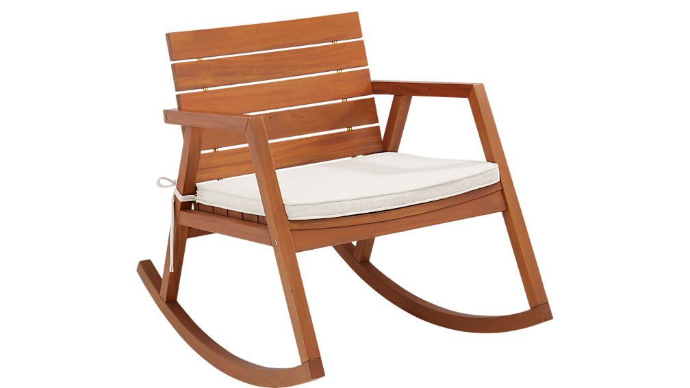 valalta rocking chair with cushion