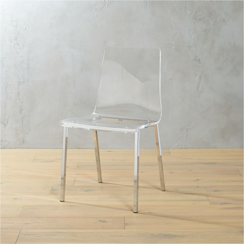 Vapor Acrylic Chair In Accent Chairs + Reviews | CB2