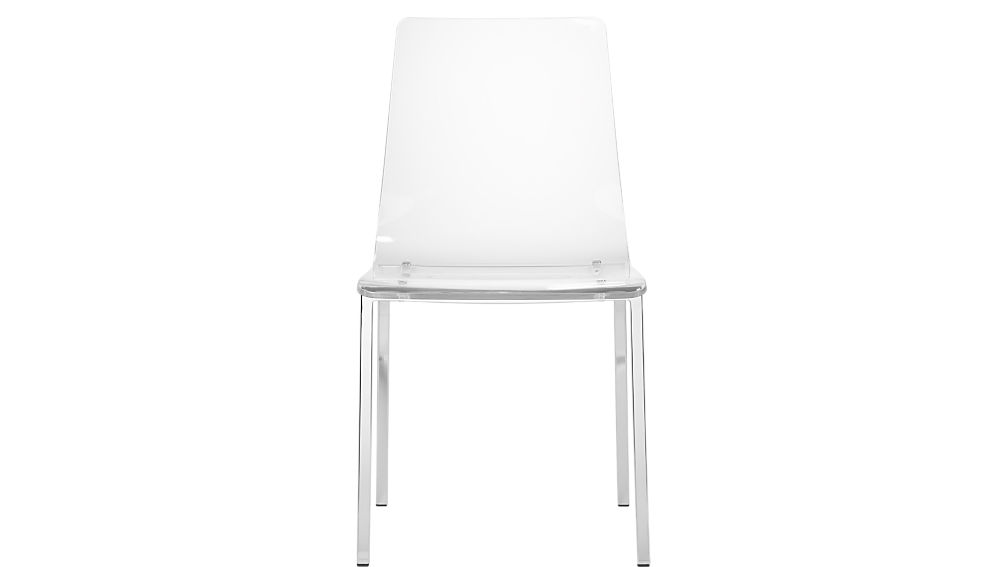 Vapor Acrylic Chair CB - Clear perspex chairs
