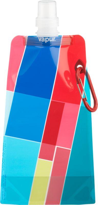 vapur rectangles water bottle