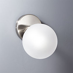 vega bath 1 bulb black nickel wall sconce