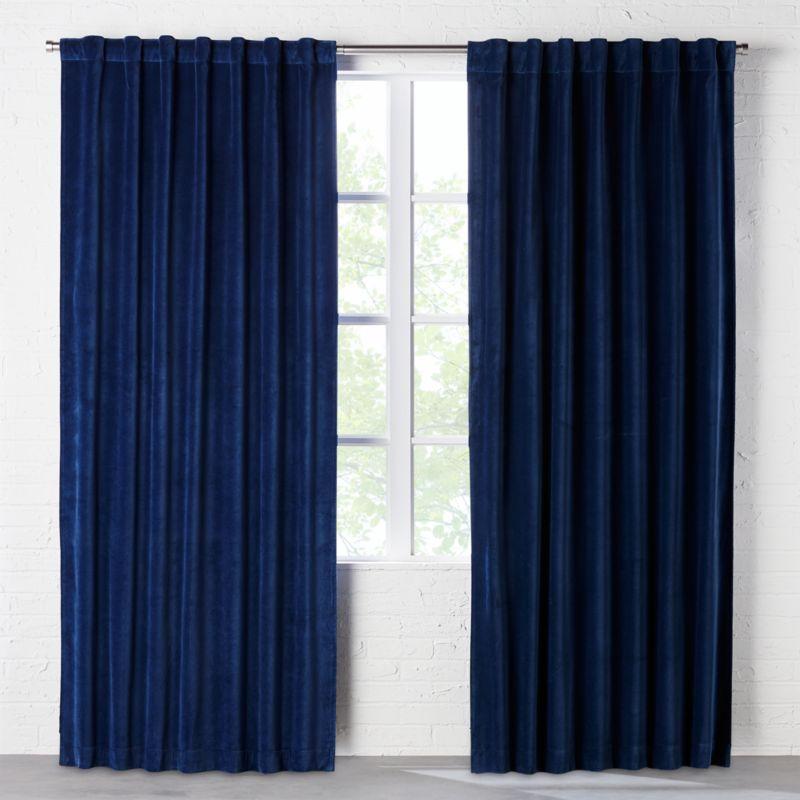 Blue Curtain Panels Canada Curtain Menzilperde Net