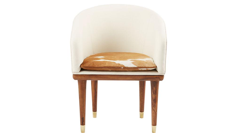 viceroy cowhide chair