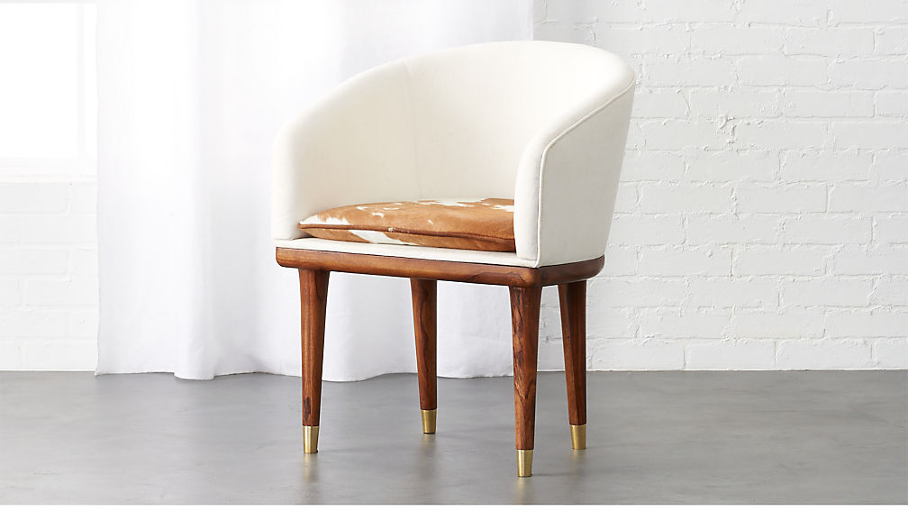 Viceroy Cowhide Chair Reviews Cb2
