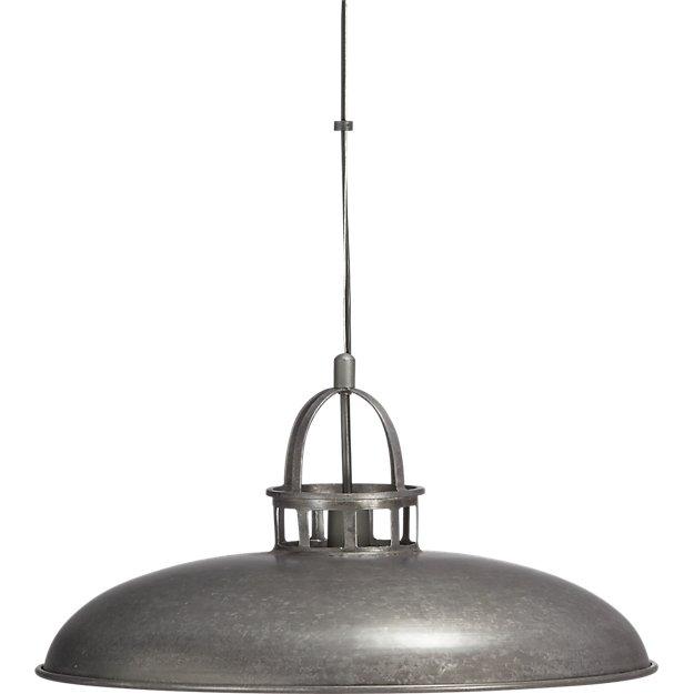 Wesco Industrial Uplight Pendant: Victory Pendant Light + Reviews
