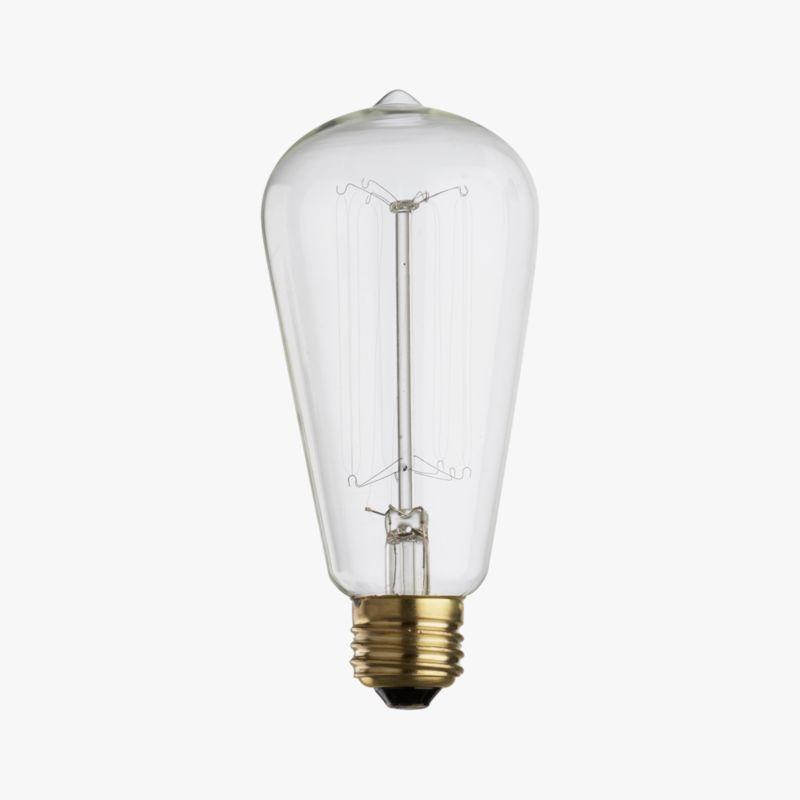 vintage filament 60W light bulb