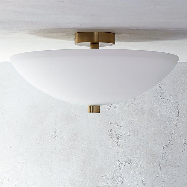 Vivid Flush Mount Lamp