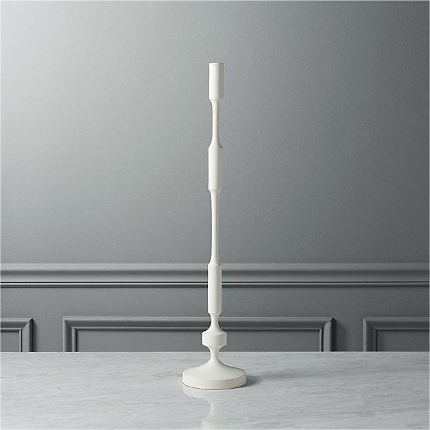 wadsworth large taper candle holder