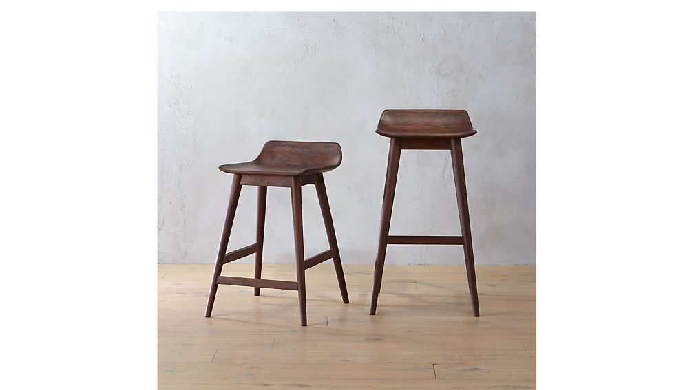 Wainscott Wood Counter Stool In Bar Stools Counter Stools