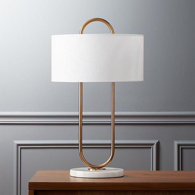 warner table lamp - Warner Table Lamp CB2