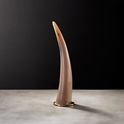 Small Water Buffalo Horn