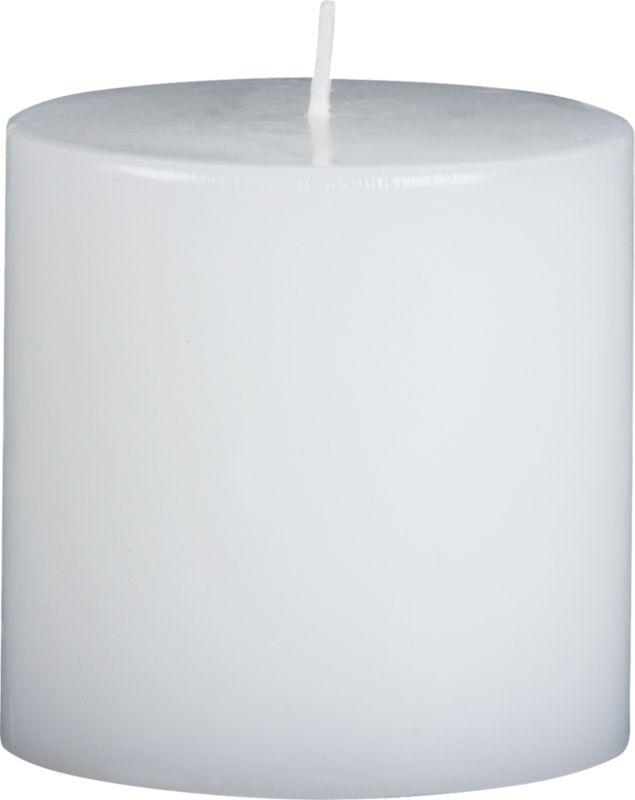 """3""""x3"""" pillar candle"""