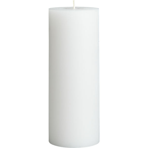 WhitePillarCandle3x8F14