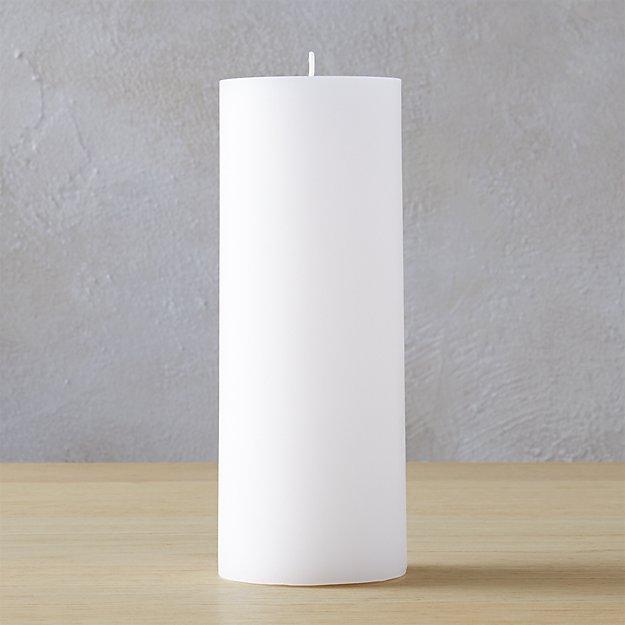 """3""""x8"""" pillar candle"""