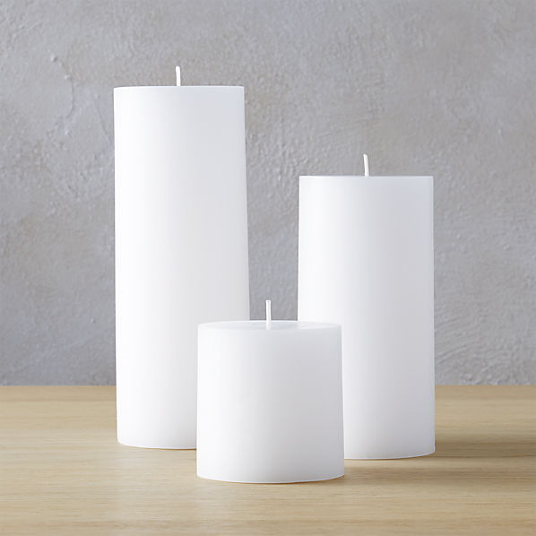 WhitePillarCandleGroupFHF16