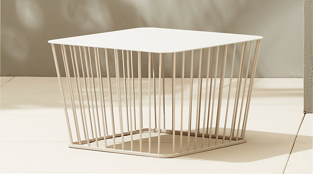 wire coffee table | CB2