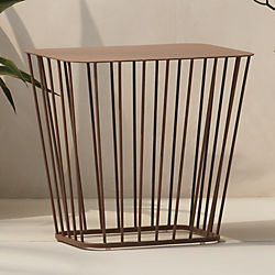 wire side table