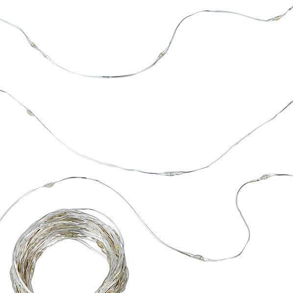 WireSprklLineLghts40ftSlvrF17