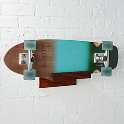 wood skate-snowboard storage