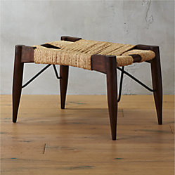 Wrap Large Woven Bench Cb2