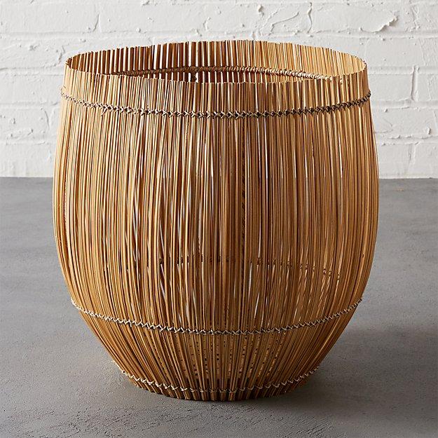 yuzo natural bamboo basket