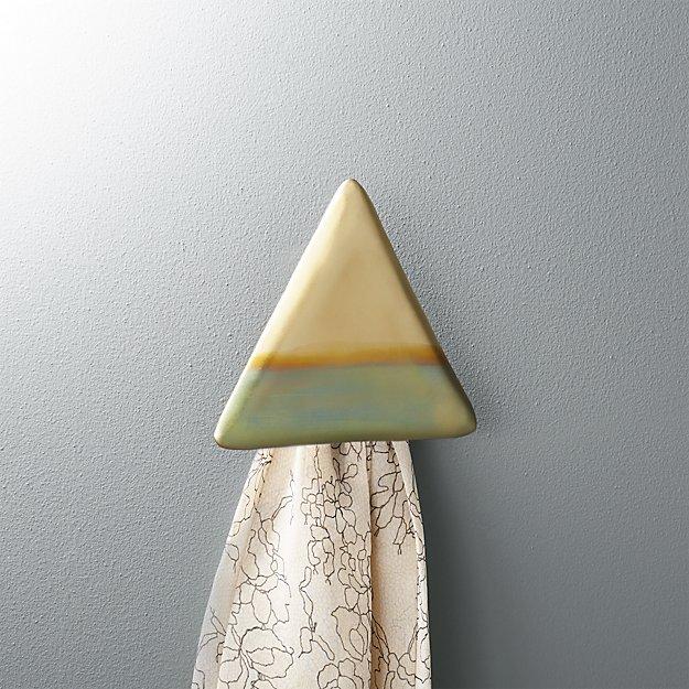 zoetic triangular wall hook