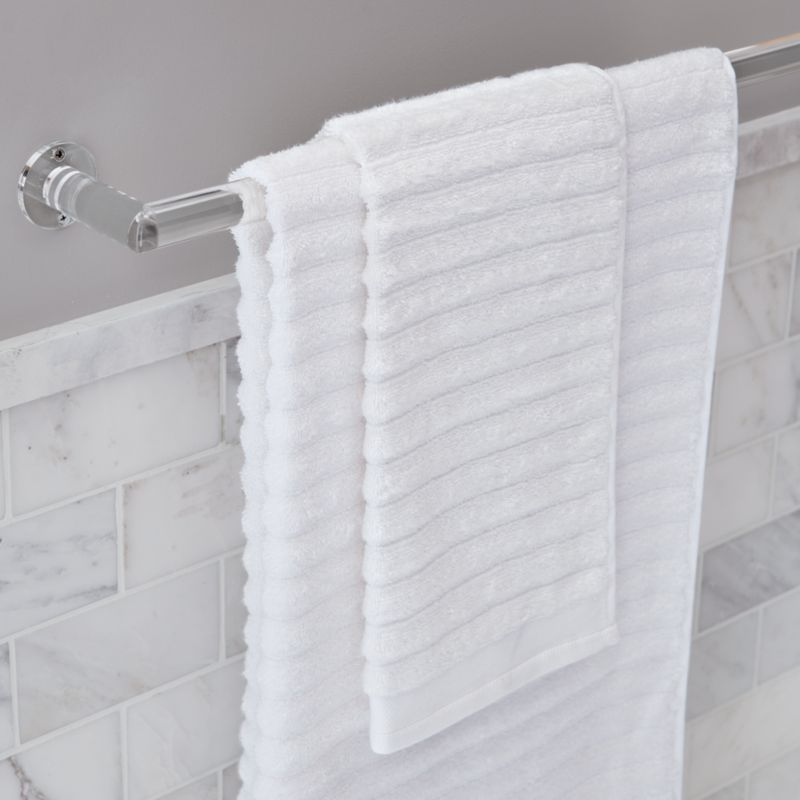 acrylic towel bars