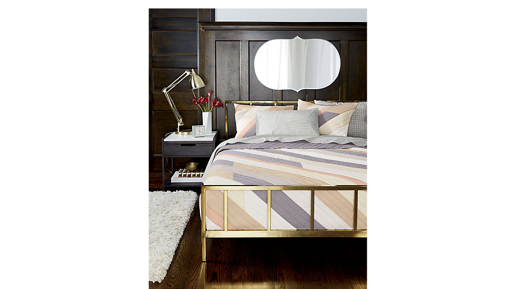 alchemy bronze queen bed