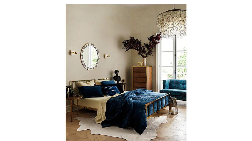 alchemy bronze king bed