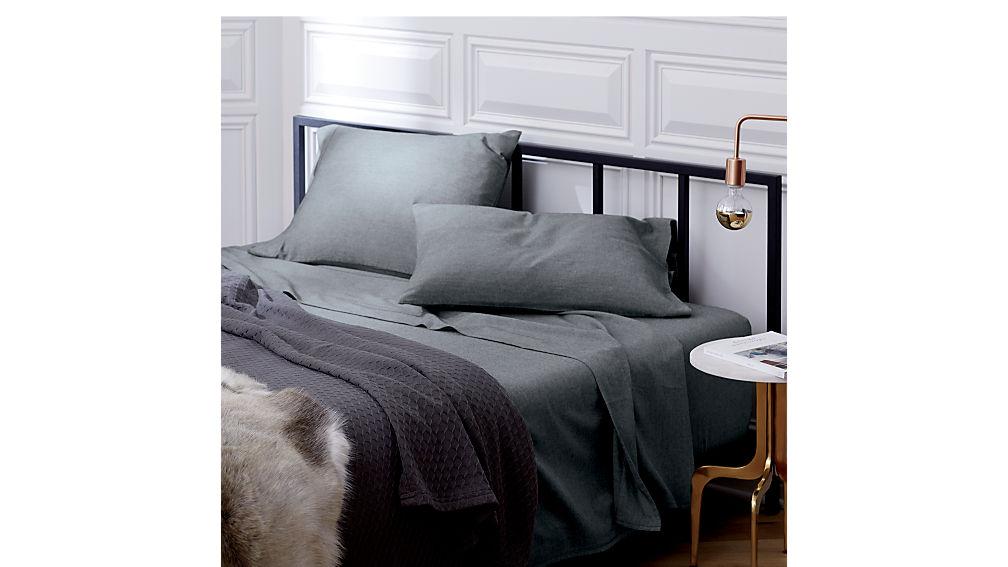 alchemy matte black king bed