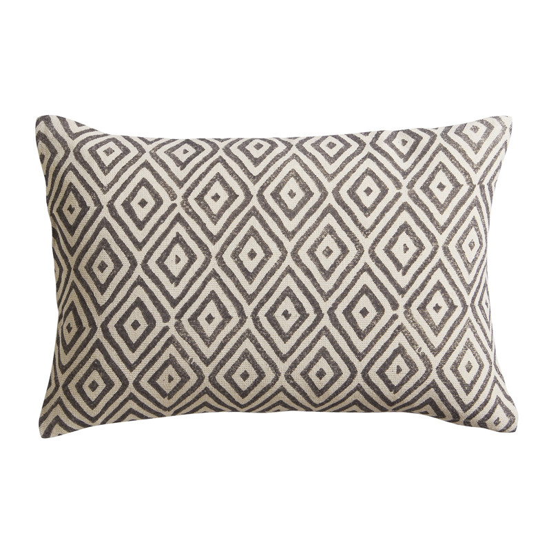 diamond lattice 18x12 pillow
