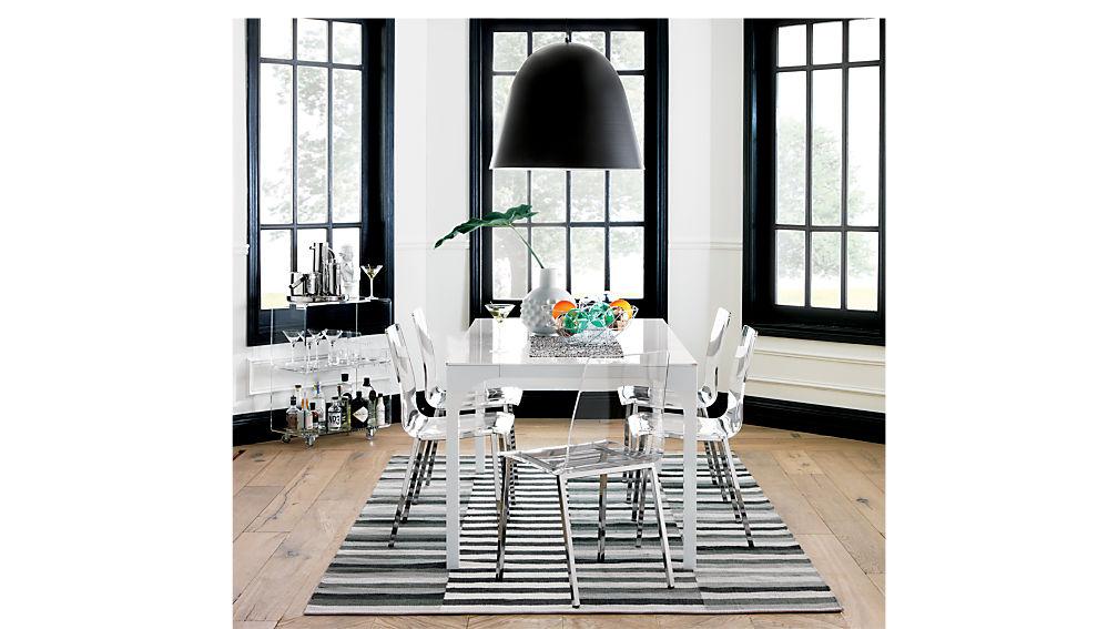 Vapor Acrylic Chair Cb2