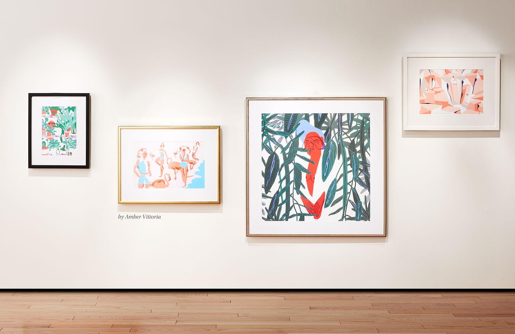 Art CB - Art gallery wall