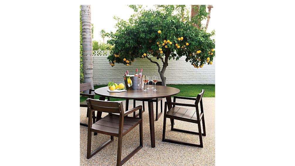 artemis round dining table