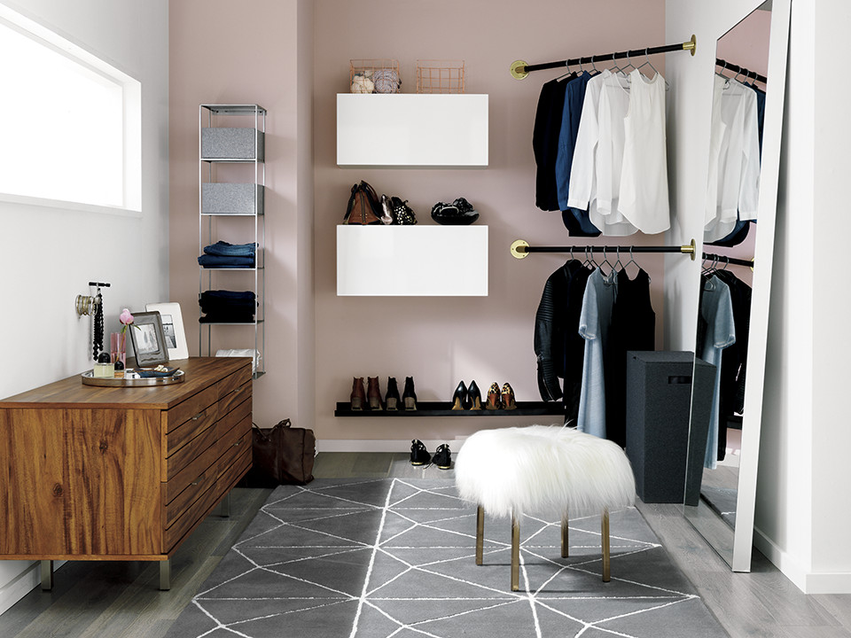 68138f0881 What are creative ways to organize and store shoes  MW  I like simple  clothes and fun shoes