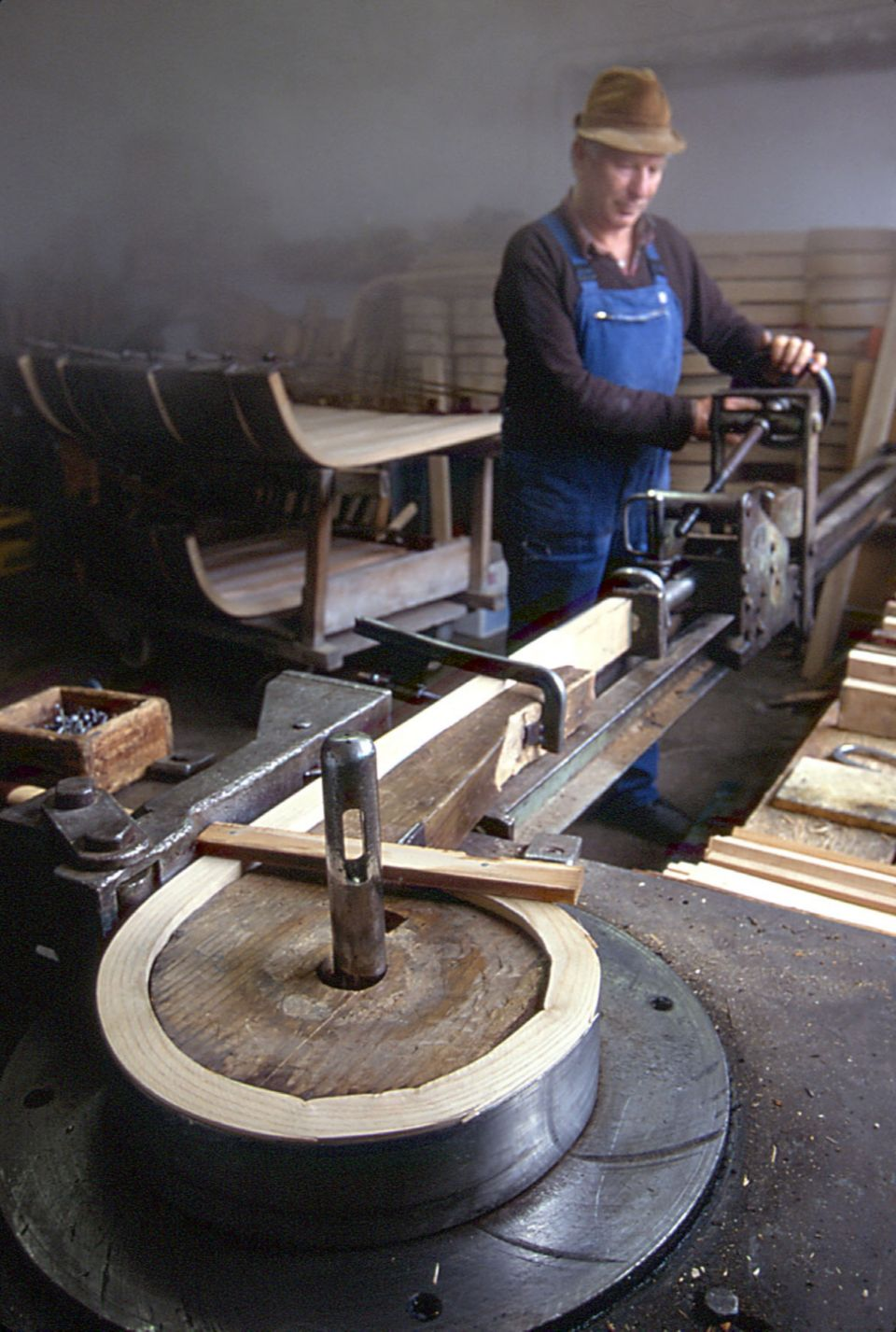 Founded by childhood friends Wolfgang Sirch  an interior architect  and  Christoph Bitzer  a sculptor   Sirch is known for its commitment to  tradition with a. How It s Made  Bent Wood Sled   Idea Central   CB2 Blog