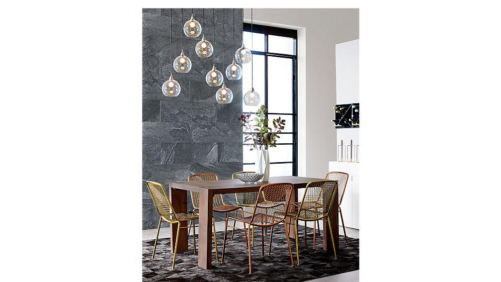 blox 35x63 dining table