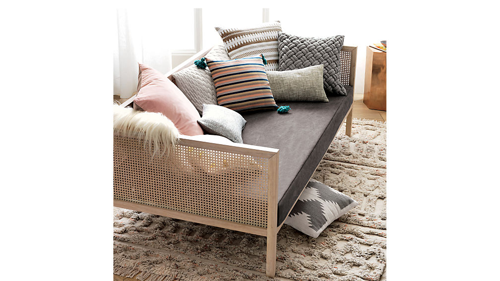 boho daybed pewter mattress cover