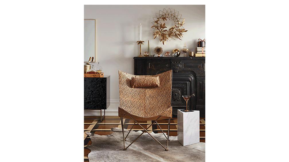 Cheetah Print Butterfly Chair; Cheetah Print Butterfly Chair ...