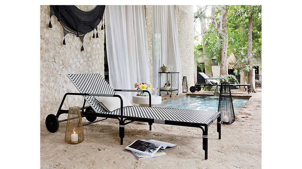 caprice outdoor chaise lounge chair