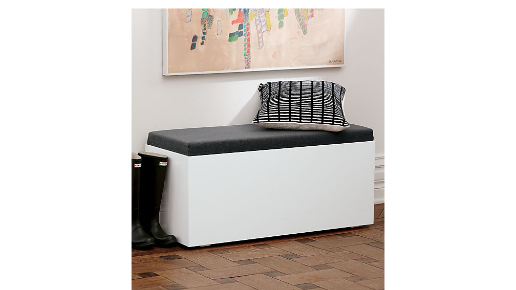 catch-all storage bench