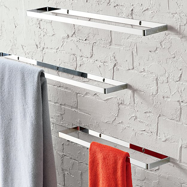 chrome towel bars