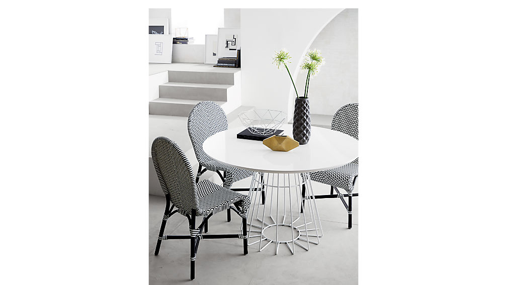 compass dining table