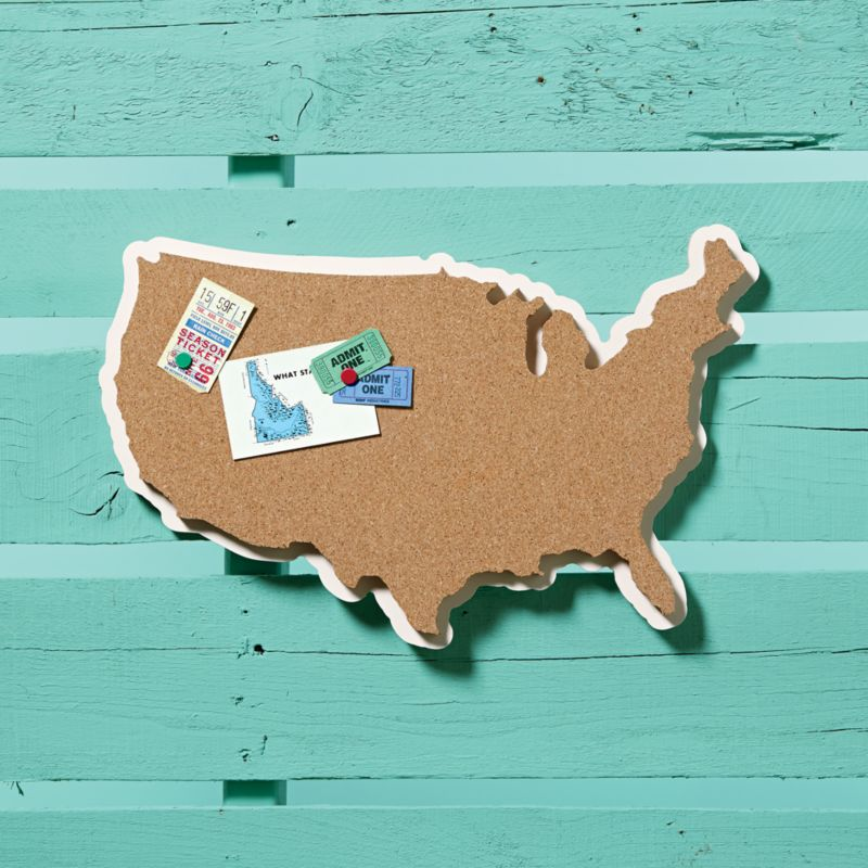 cork U.S.A. wall board