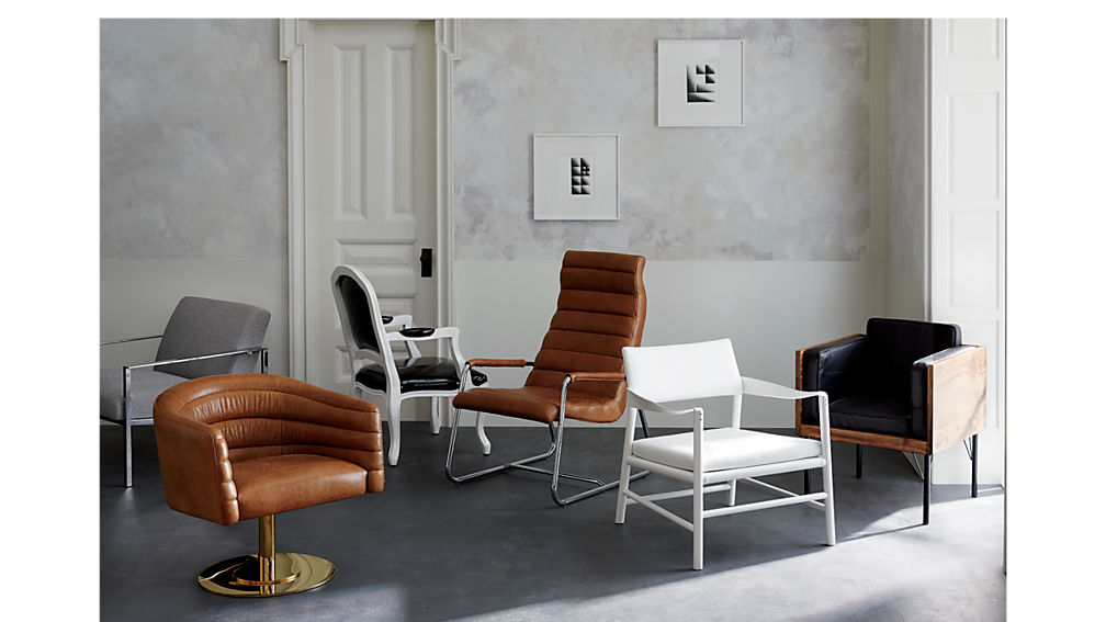 cue grey chair