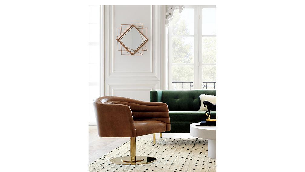 cupa leather chair